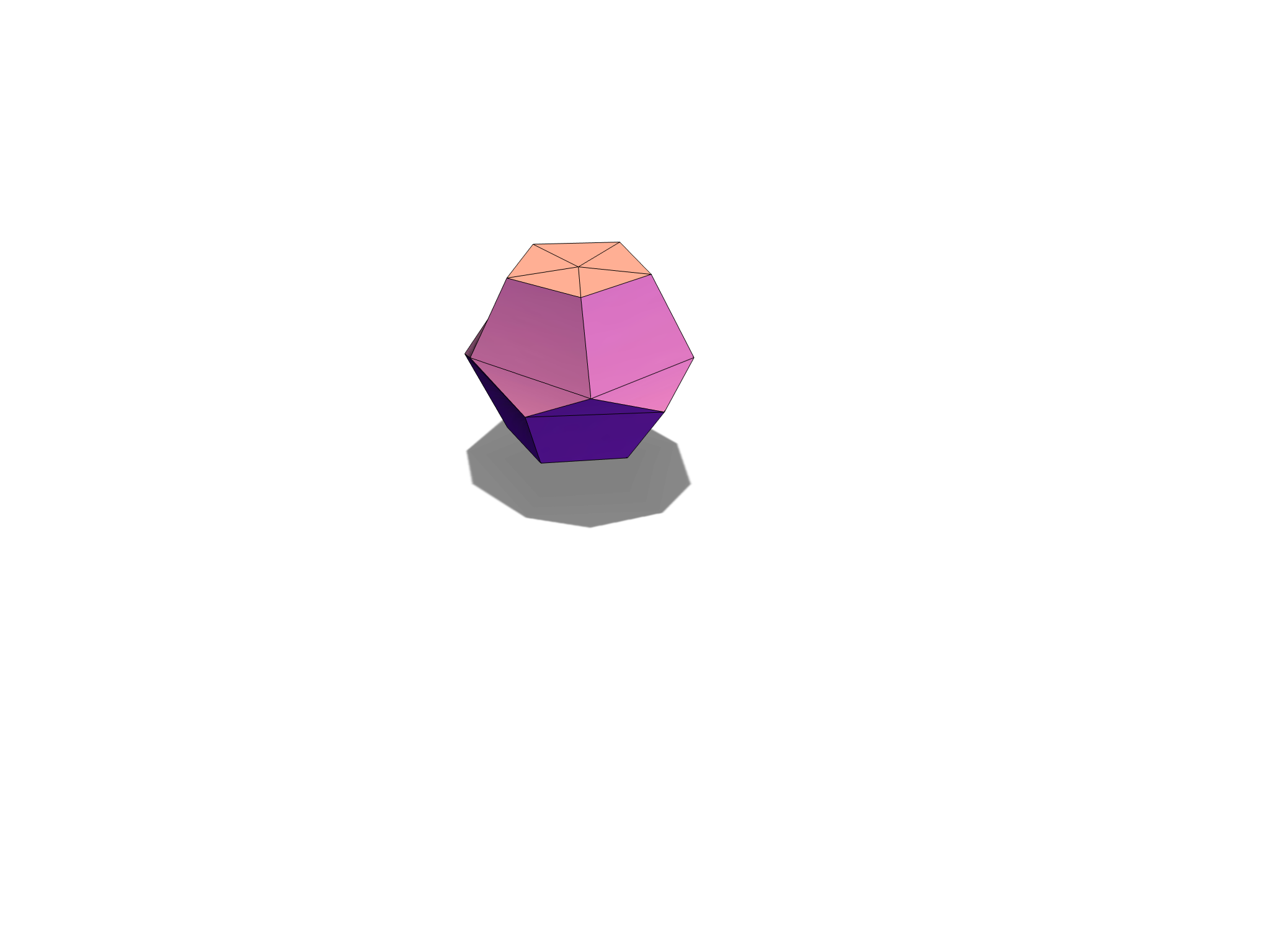 dodecahedron - 3D design by lolcuber May 11, 2018