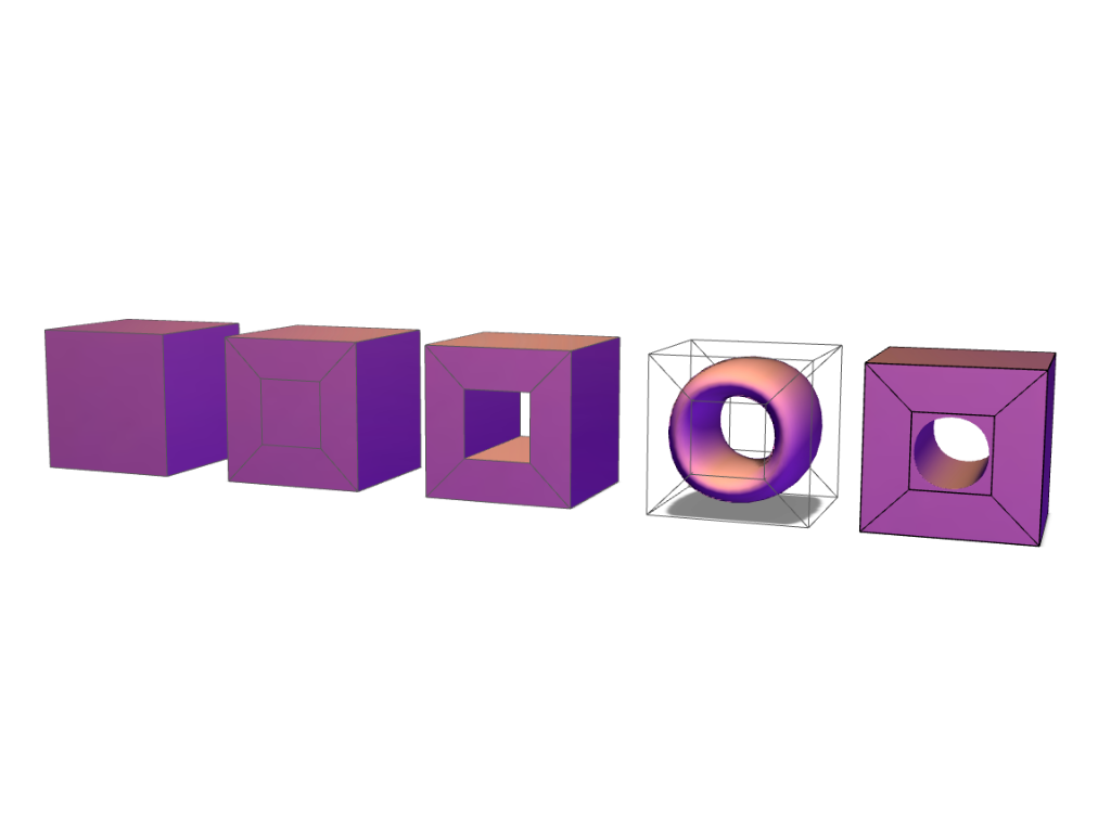 EDU - cube hole - 3D design by Andy Klement Sep 5, 2017