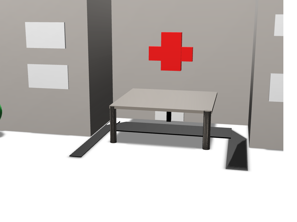 Hospital - 3D design by crivas5 Apr 23, 2018