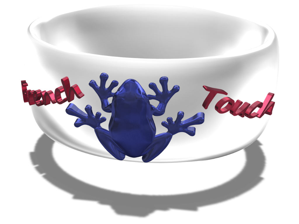 Bangle of Frogs - 3D design by Omni-Moulage on Aug 27, 2017