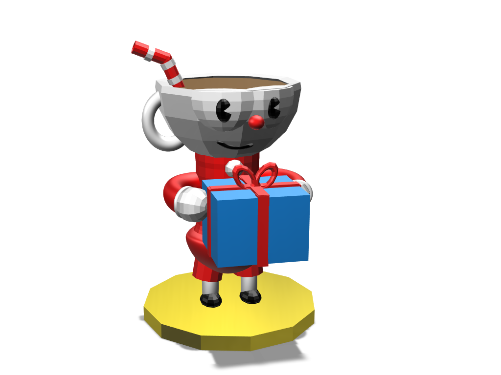 Cups are cool - 3D design by Mr. BigBody on Mar 27, 2018