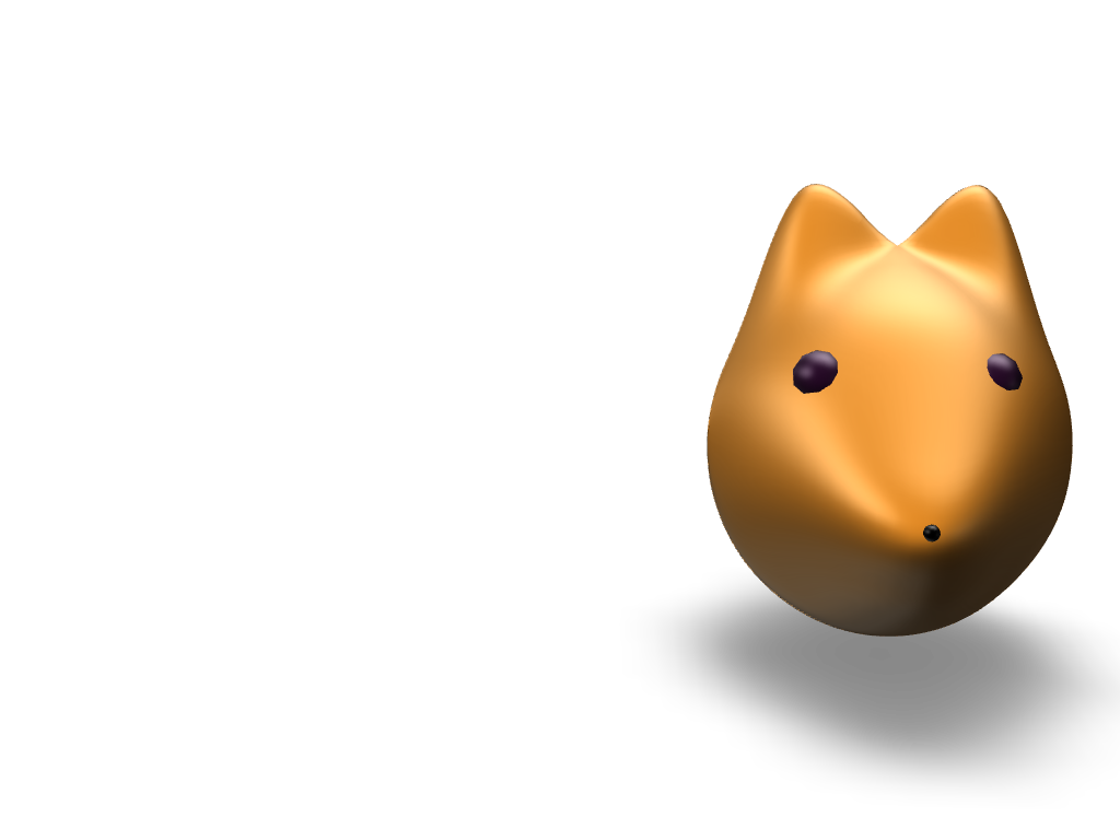 Fox head - 3D design by cryatonic555 Sep 20, 2017