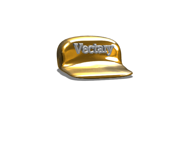 Vectary Hat - 3D design by Dylan Manion Oct 6, 2017