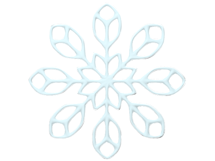Snowflake 2 - 3D design by Jean Alexander Nov 15, 2017