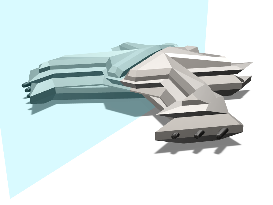 Spaceship!! - 3D design by raykayil Sep 8, 2017