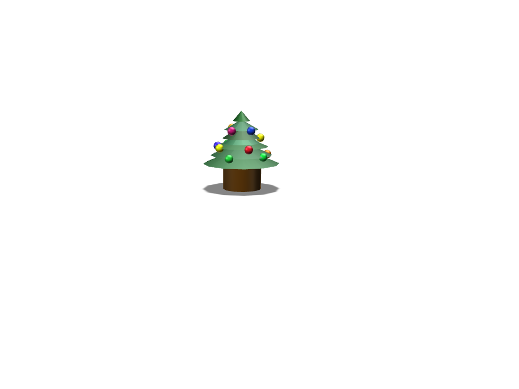 Christmas tree - 3D design by michala.sonon Nov 16, 2017