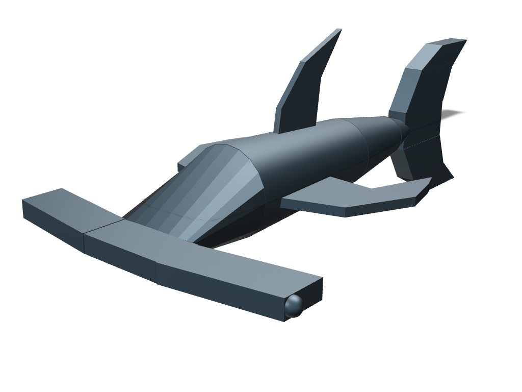 hammerhead shark - 3D design by shark on Sep 26, 2017