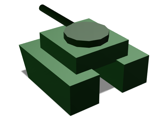 Tanks Are The Best - 3D design by washg004.315 Apr 20, 2018