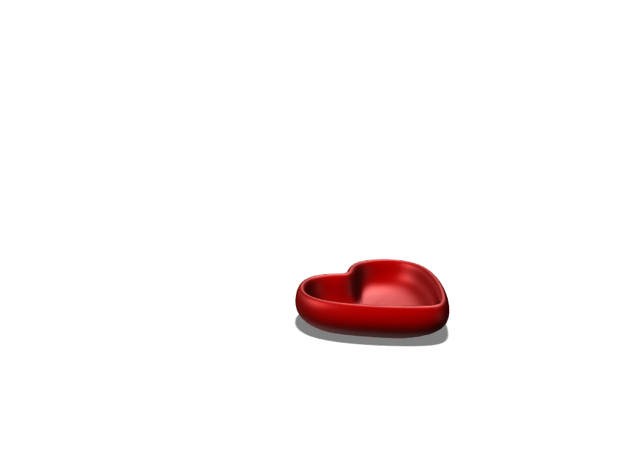 heart bowl - 3D design by kjanaewilliams on Apr 11, 2018