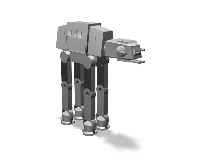 AT-AT - 3D design by K.K. Studios on May 29, 2018