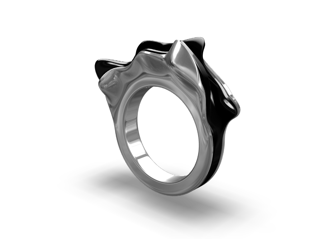 Organic ring - 3D design by Johnnyal Aug 3, 2016