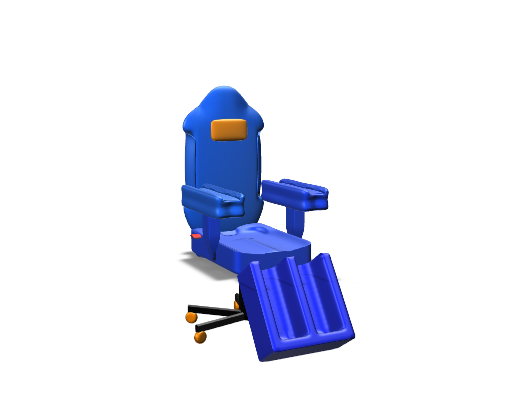 Chair - 3D design by Kin Nov 14, 2017