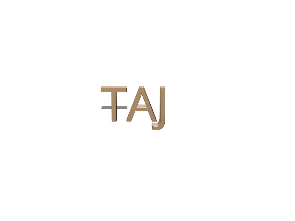 TAJ - 3D design by Biswajit Dey Mar 22, 2018