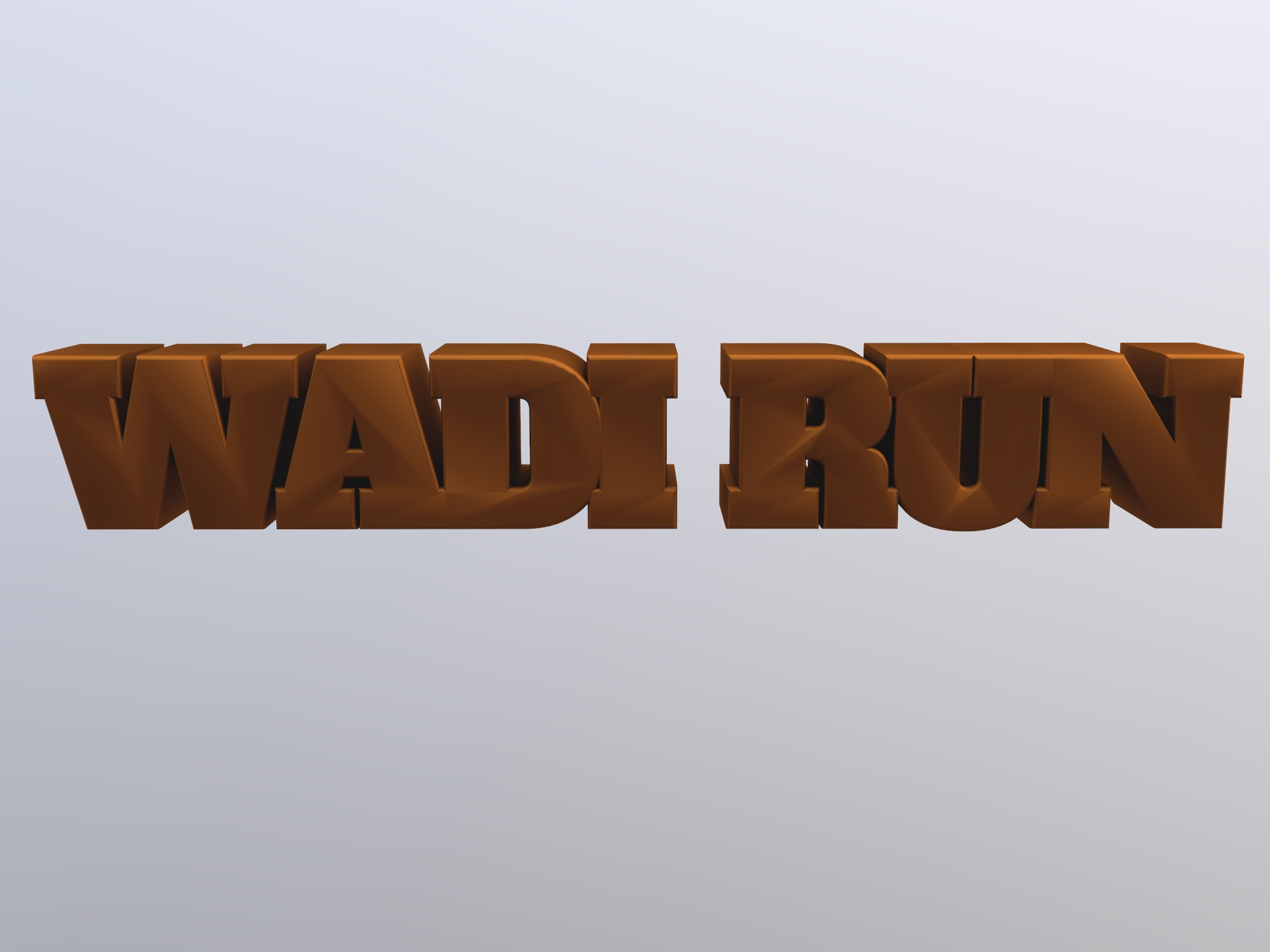 wadi run (copy) - 3D design by Rey ßh on Dec 15, 2018