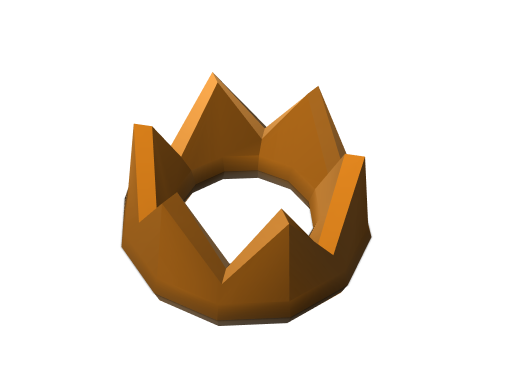 Crown - 3D design by jessetang3214 Apr 19, 2018