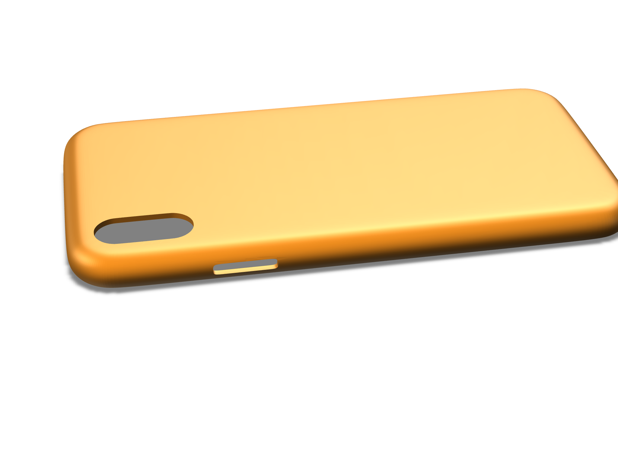 iPhone X case  Simple - 3D design by safogarty19 on Jan 16, 2018