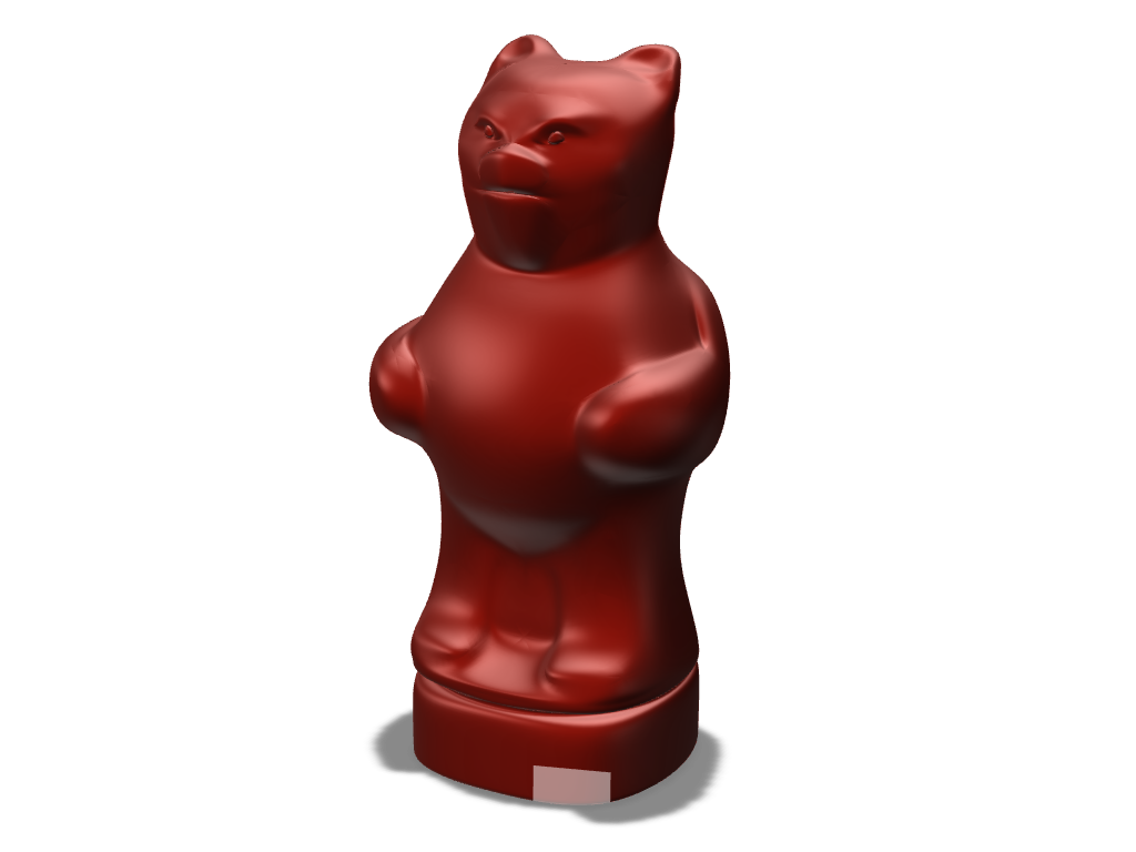 Angry Bear - 3D design by radovan.peknik May 21, 2017