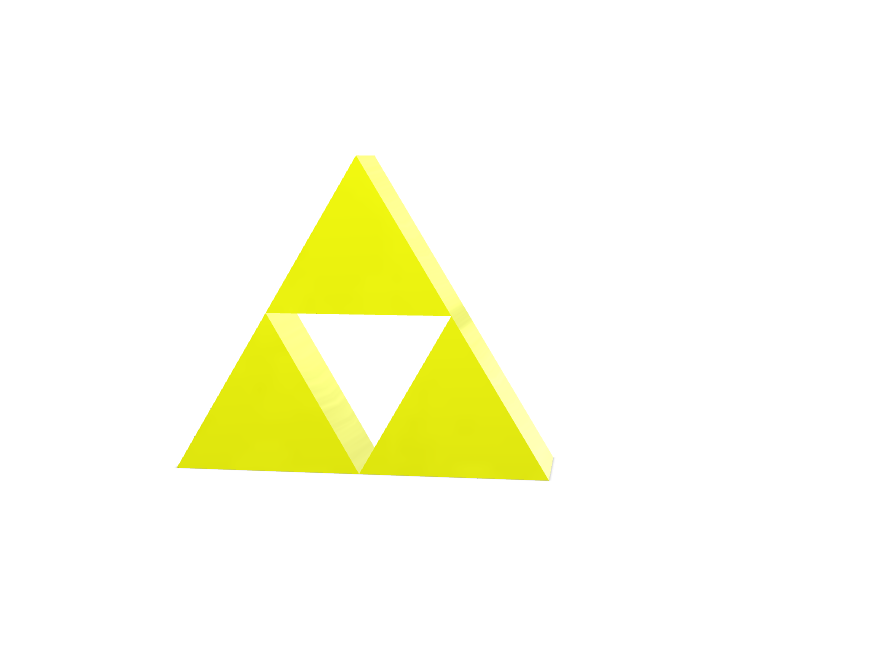 Triforce - 3D design by sfzansle Jun 10, 2017