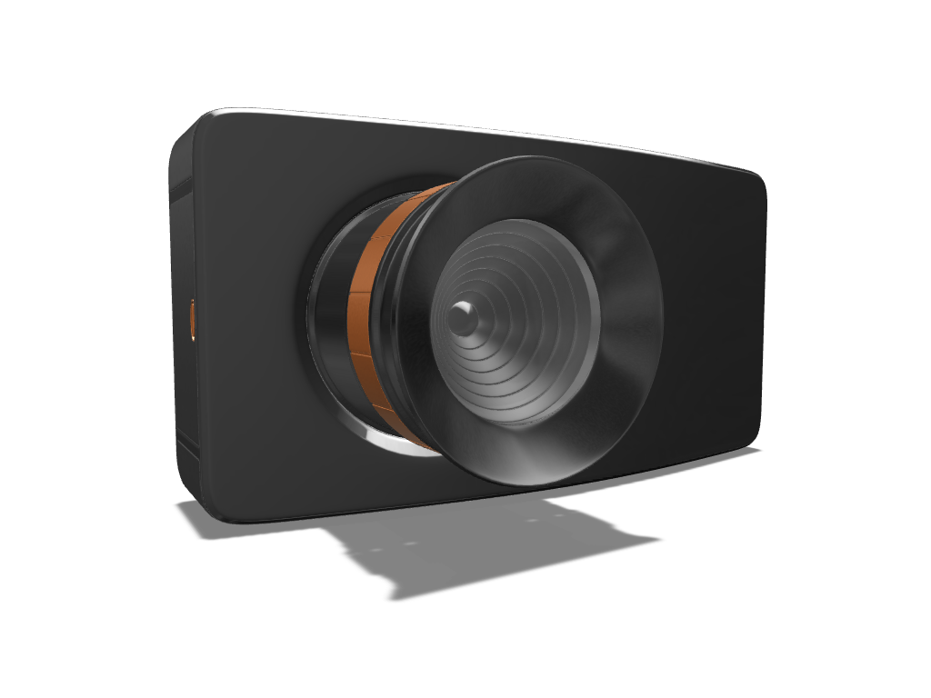Compact Camera for lefties - 3D design by meshtush Oct 11, 2016