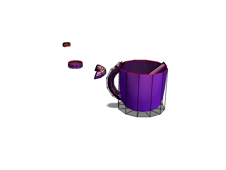 MUG AND A SPOON - 3D design by asanchez292 on May 15, 2018