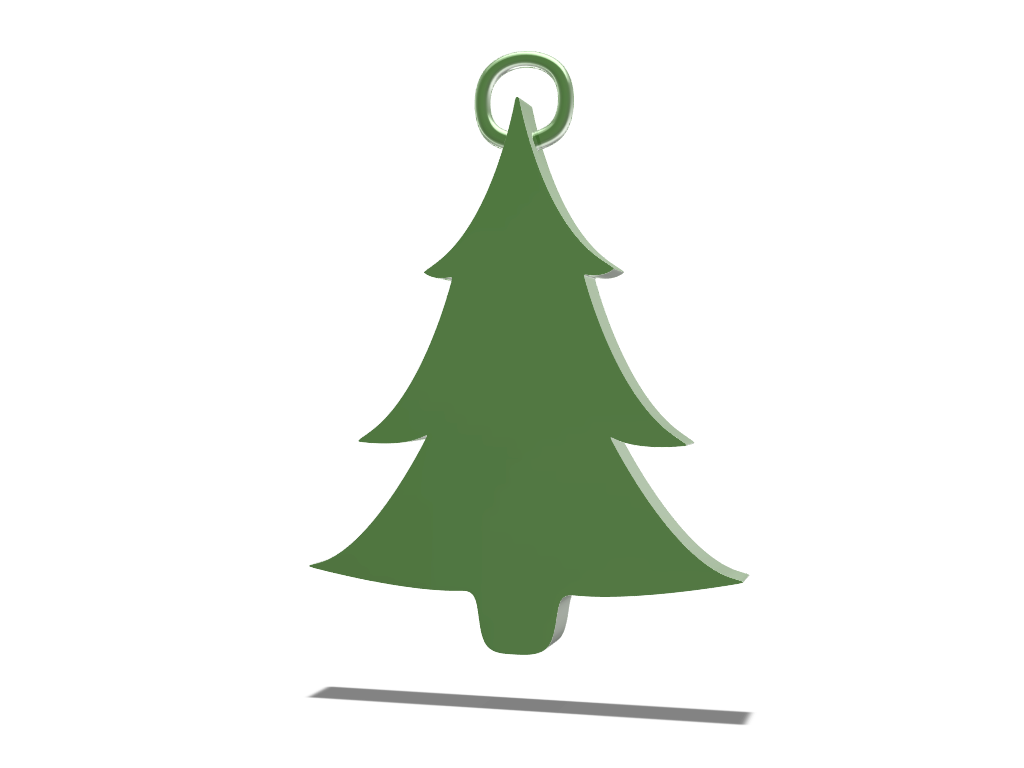 Tree bauble - 3D design by melenovic Dec 19, 2017