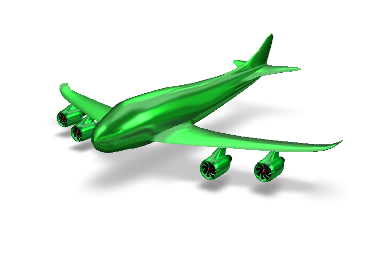 Airplane - 3D design by Michal Slabej on Jul 20, 2017