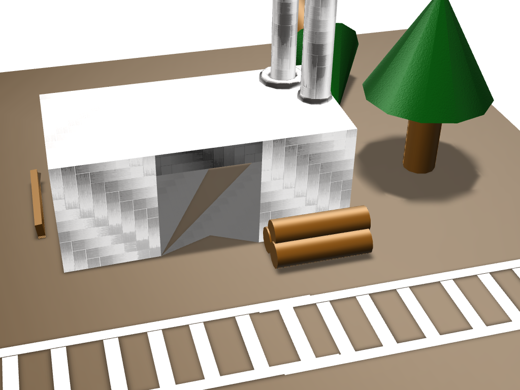 lumber mill - 3D design by jack.cabell Nov 30, 2017