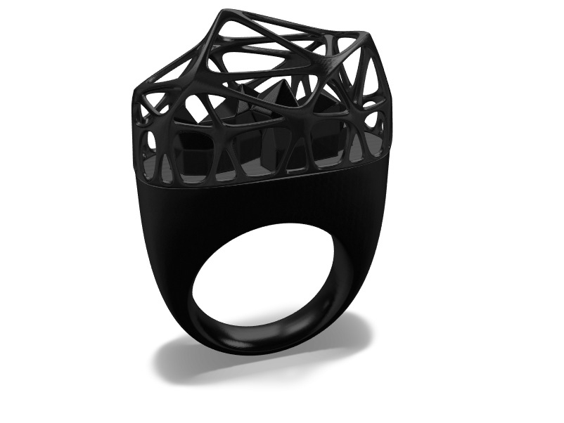 Cage Ring - 3D design by cicig0901 May 19, 2018