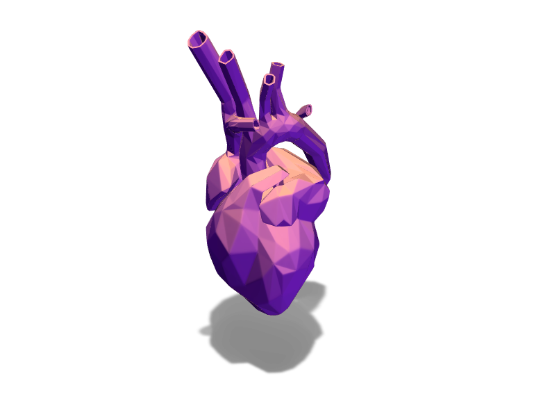 Heart - 3D design by Dogerainbow31____ Feb 15, 2018