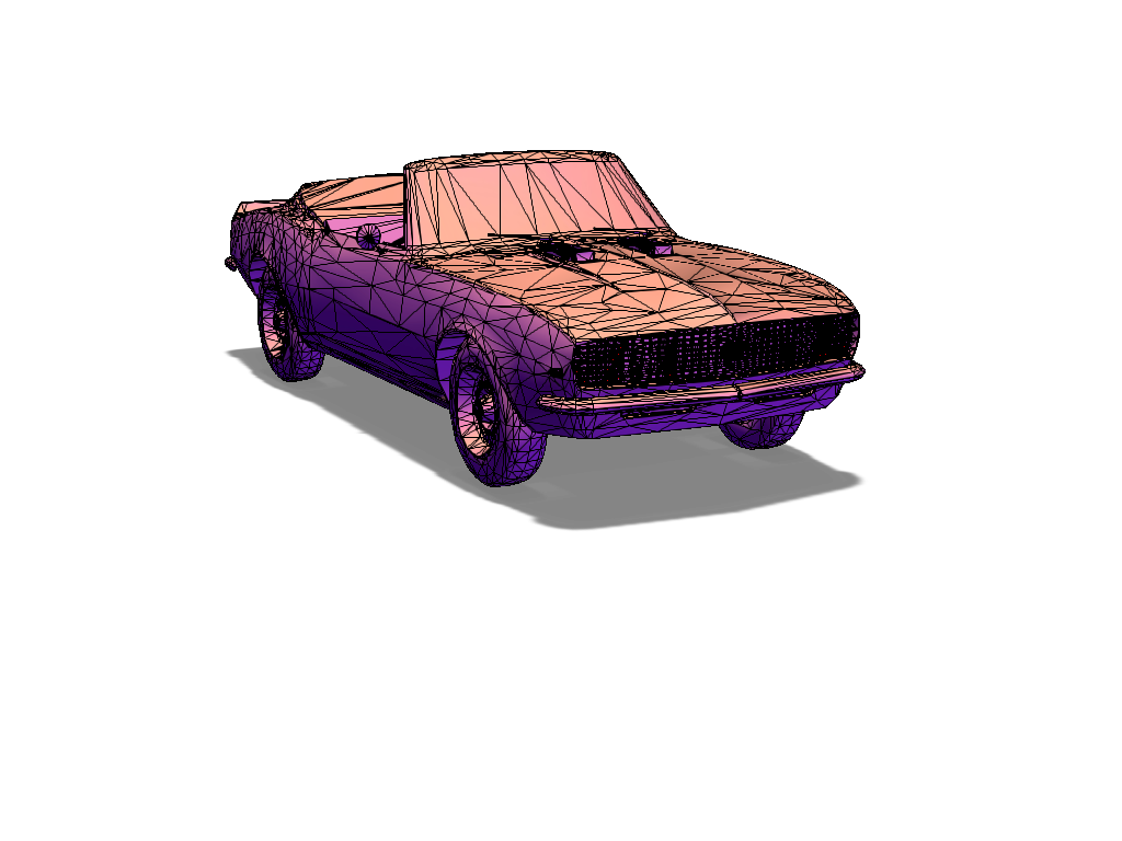 1969 camaro ss 396 convertible - 3D design by ca6italbeef on Apr 3, 2018