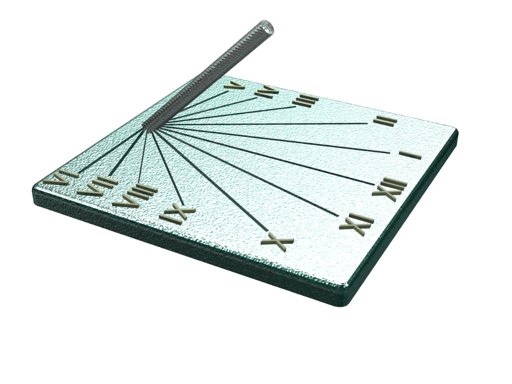 Roman Sundial - 3D design by Omni-Moulage on Sep 10, 2017
