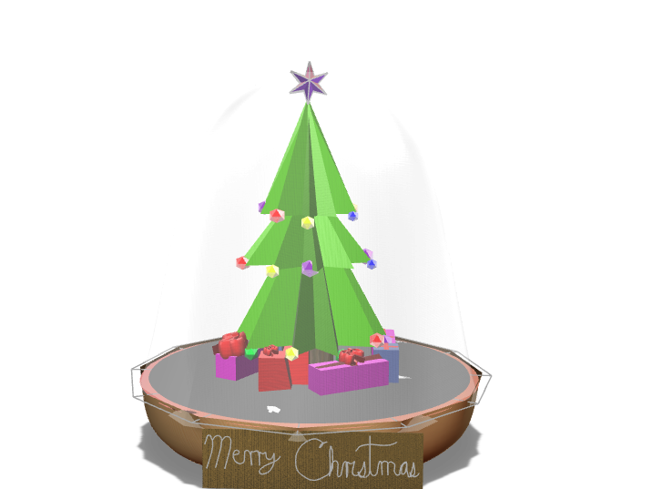 Xmas - 3D design by Estefania Pineda Dec 7, 2017