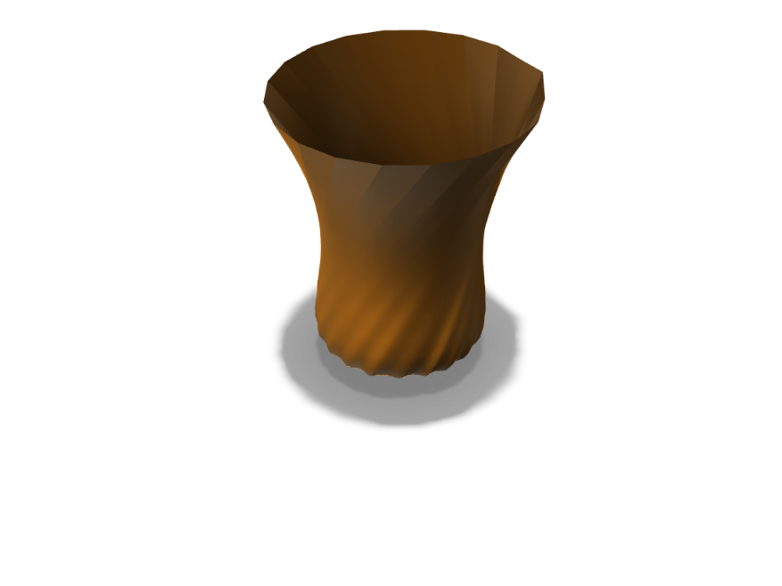 ROUND VASE 2.0 - 3D design by coolestlegendTHEbeast Sep 4, 2017