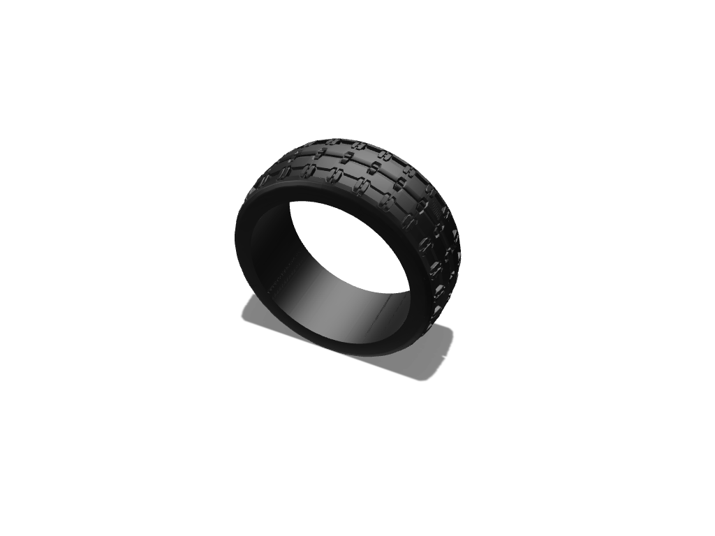 Mr Tire - 3D design by stephen.capp on Nov 23, 2017