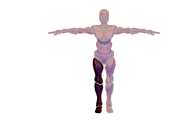 male body template - 3D design by william_perry on May 7, 2018