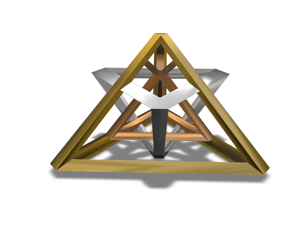 Pyramid Pendant - Sharpedged - 3D design by Adrien Unger Sep 1, 2017