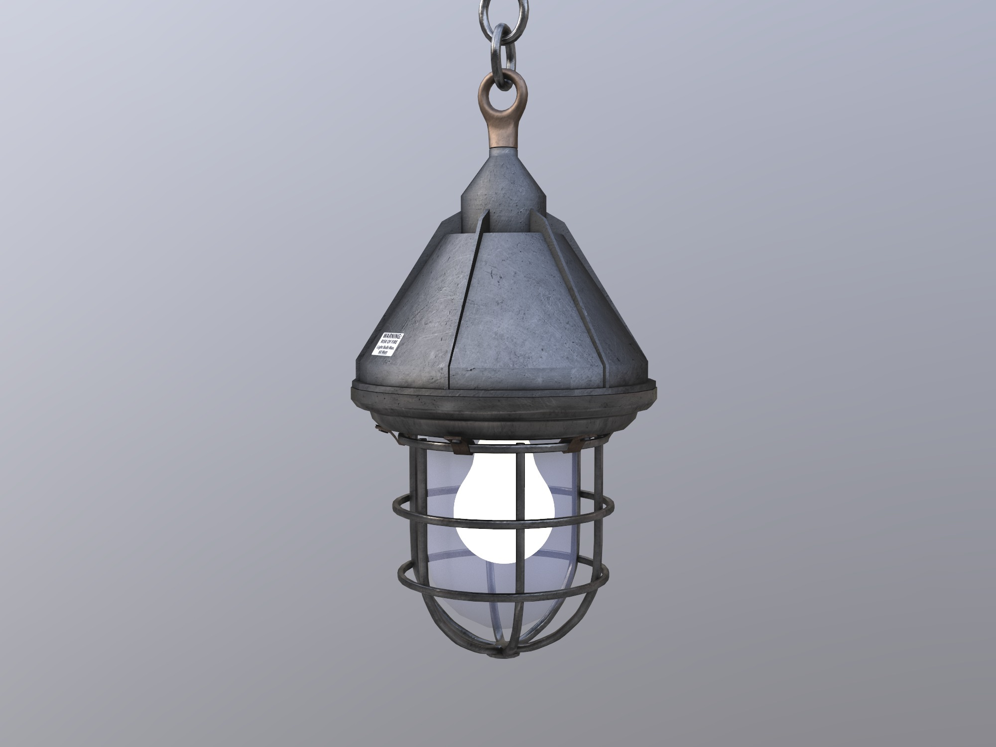 Industrial lamp - 3D design by blabla Aug 22, 2018