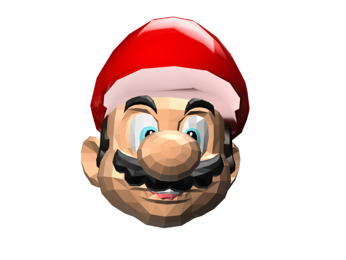 It's-a Me, Mario! - 3D design by José Luis Oviedo Choque on Mar 16, 2018