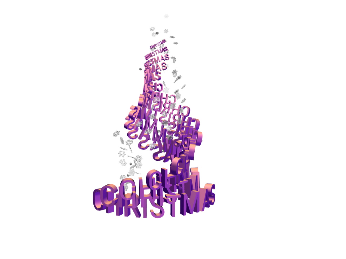Christmas tree - 3D design by Andy Klement Dec 20, 2017