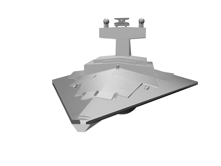 star destroyer - 3D design by wbfnitzj19 Dec 5, 2017