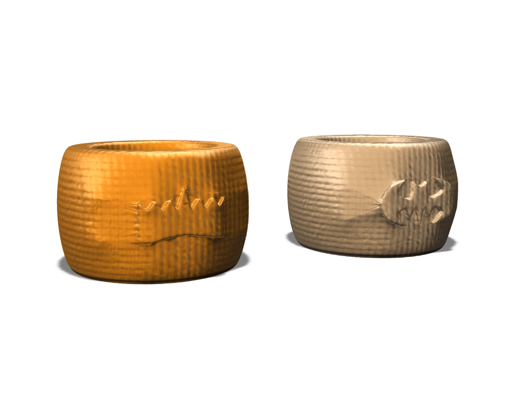Napkin Ring - 3D design by frenchclem on Mar 26, 2018