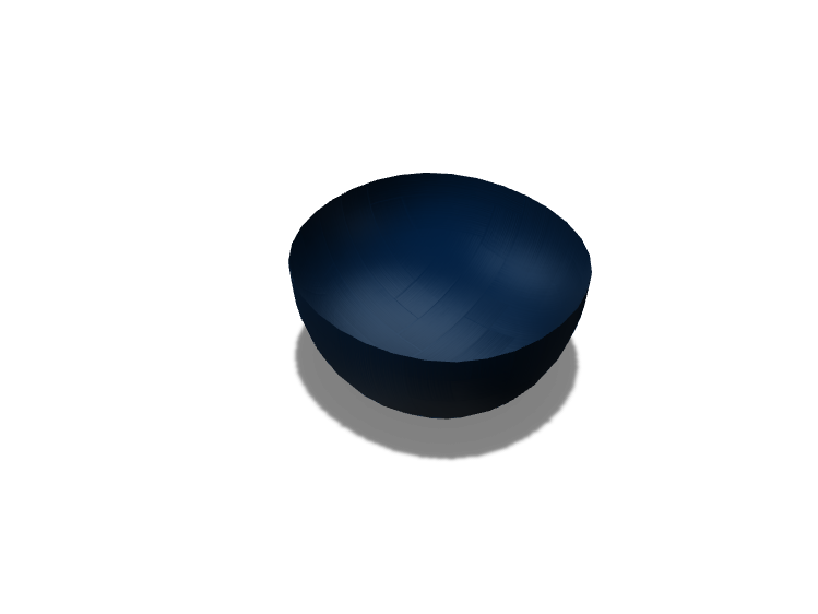 Bowl - 3D design by cestrada40 on Apr 3, 2018