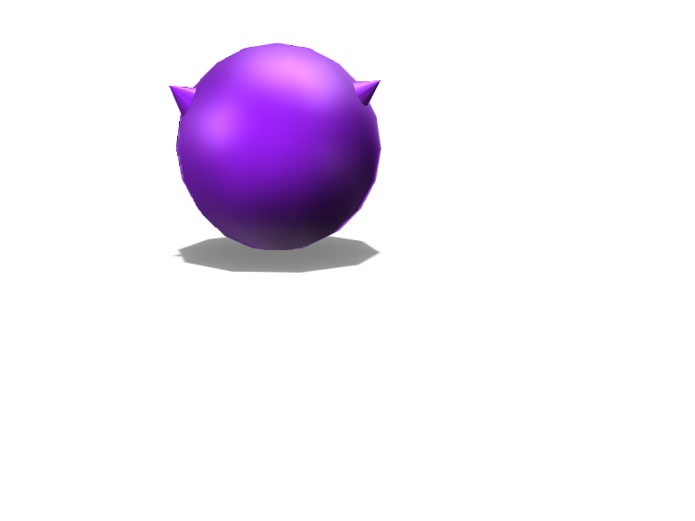 two spiked ball - 3D design by The_alien_girl._00 Dec 14, 2017