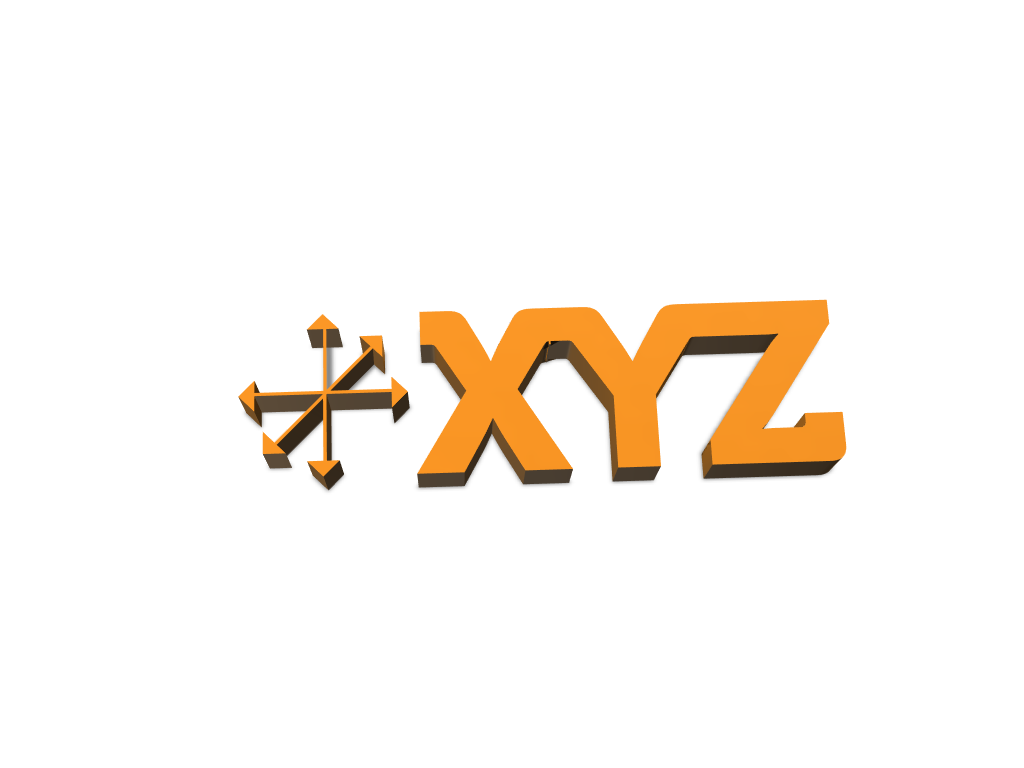 XYZ - 3D design by festimbajgora Feb 28, 2018