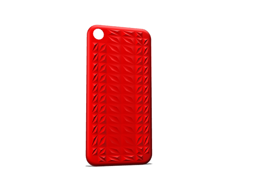 Triangulated I-Phone 7 Cover - 3D design by Dan O'Connell on Sep 16, 2017