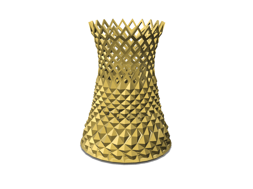 The Coronet Vase - 3D design by Enish Pastagia Sep 12, 2017