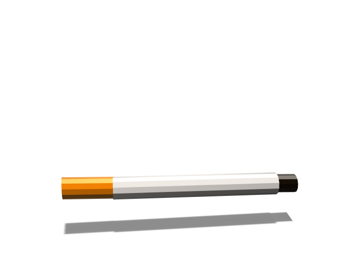 CIGARETTE - 3D design by Quentin Lanoizelet Mar 2, 2018