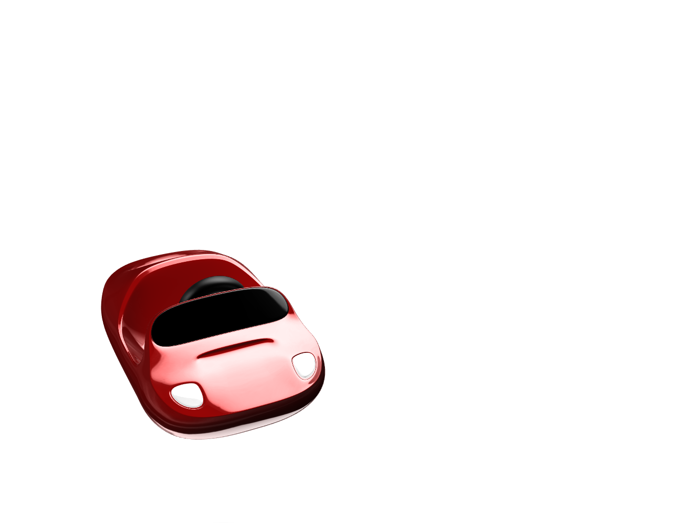 Toy: Starman riding a Tesla Roadster - 3D design by Chris Moulton Mar 1, 2018