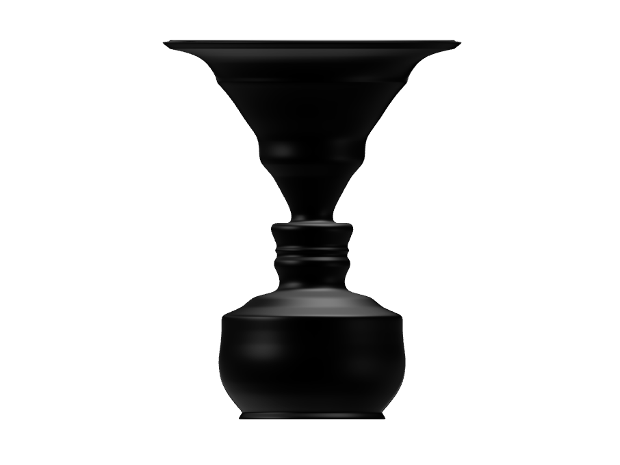 George Washington silhouette Vase - 3D design by Andy Klement Sep 13, 2017