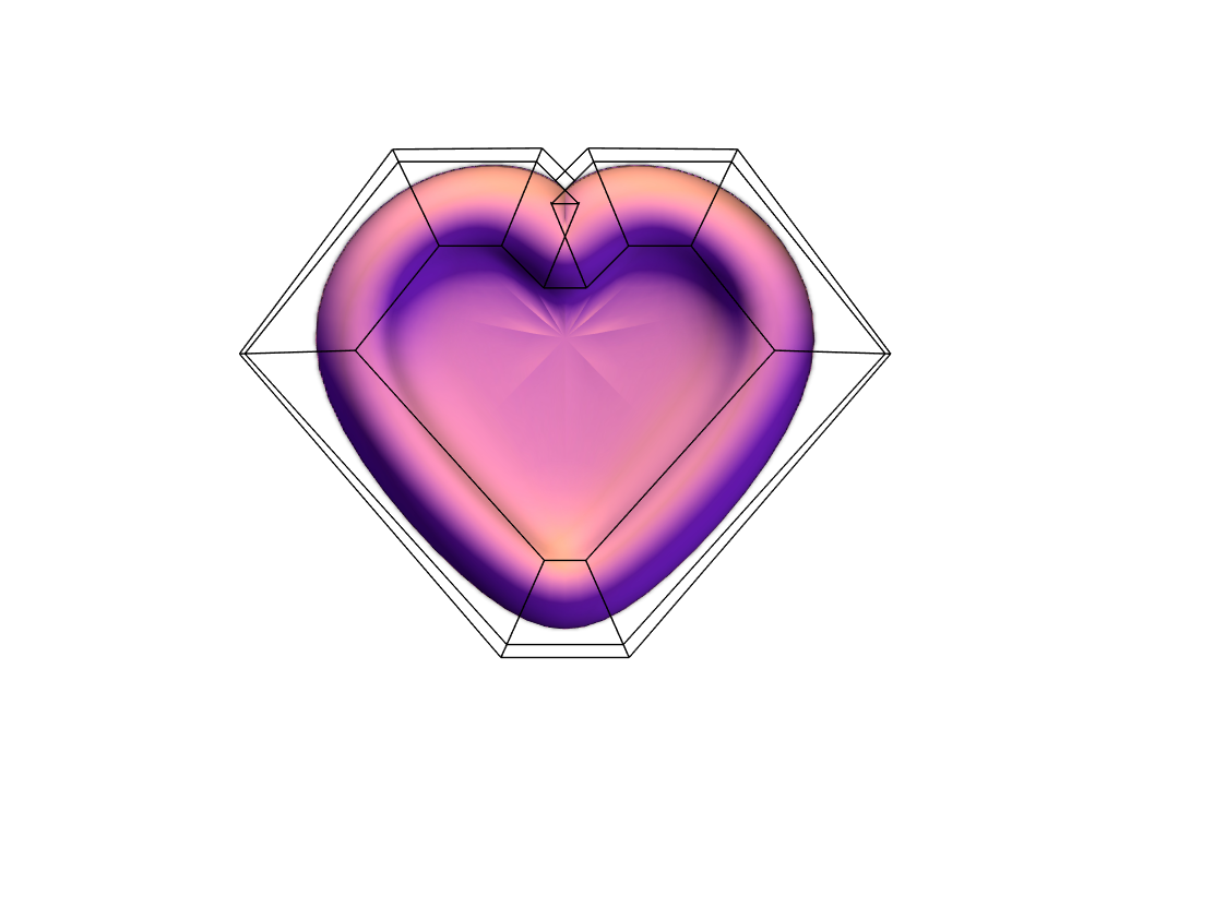 Heart - 3D design by isobelle.rodgers Mar 22, 2018